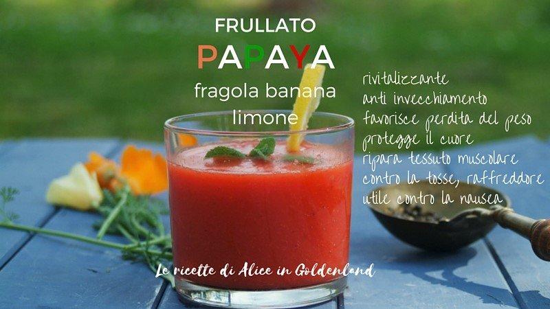 ricetta perdita di peso con semi di papaya