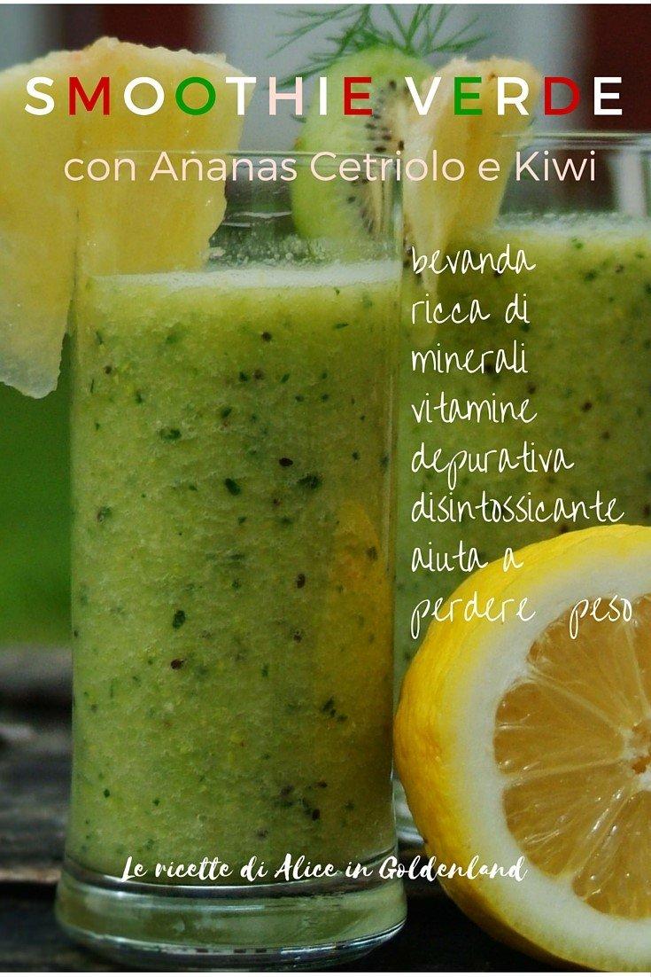 smoothie verdesito