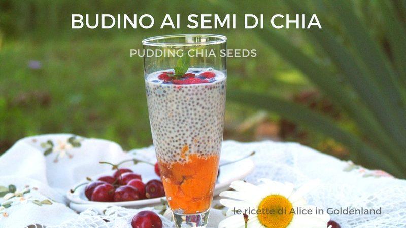 Budino ai semi di chia, pudding chia seeds