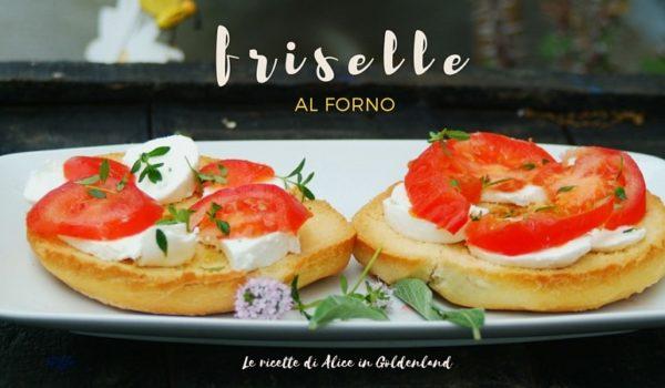 Friselle al forno
