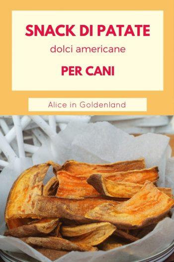 I Snack Di Patate Dolci Americane Favoriscono La Masticazione E Aiutano A  Rimuovere La Placca Dei Denti Dei Nostri Amici A 4 Zampe.