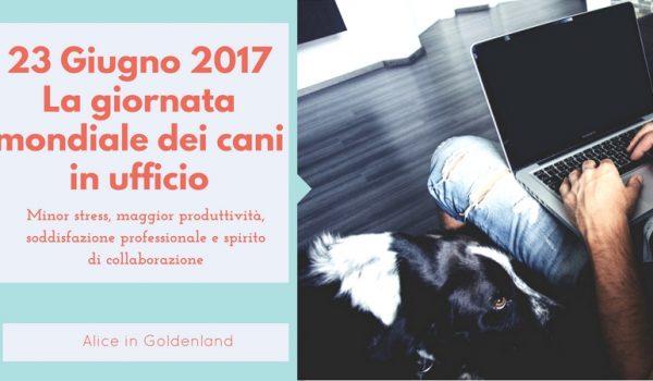 Giornata Mondiale del Cane in ufficio