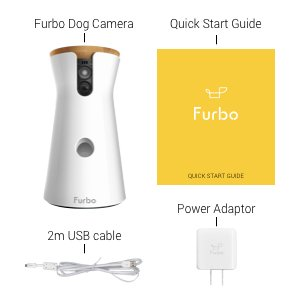 furbo dog camera inside the box